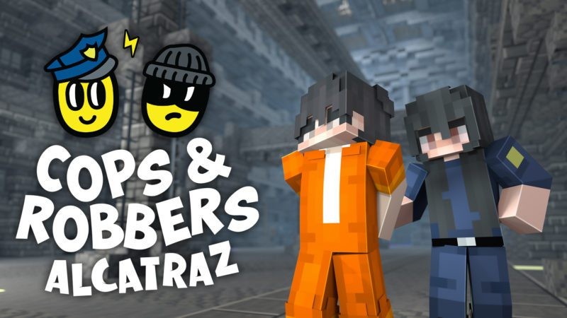 Cops and Robbers: Alcatraz – Bedrock Edition